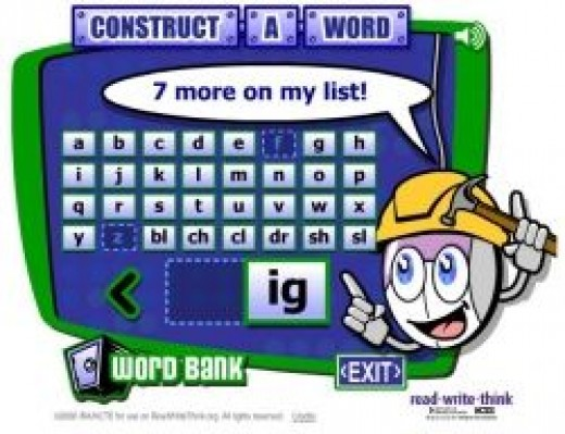 ReadWriteThink Construct-a-Word