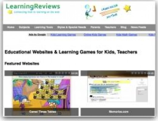 LearningReviews Lesson Plans Listings