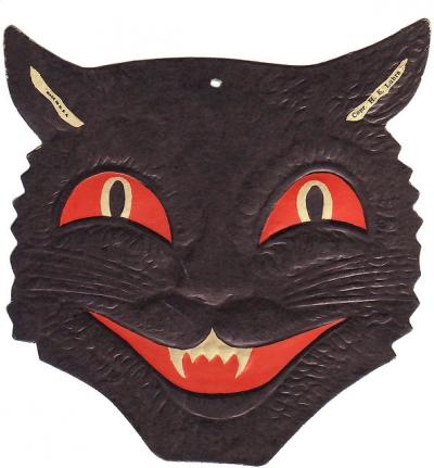 Black Cat Die cut
