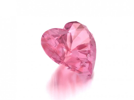 Heart Shaped Pink Diamond
