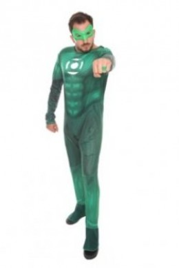 Hot Topic Green Lantern Costume
