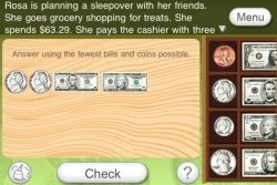 Counting Coins and Bills app