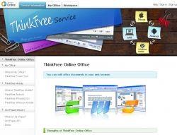 ThinkFree Online Webtools