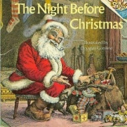The Night Before Christmas Book Gift