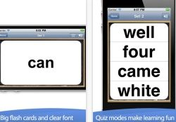 Sight Words List app