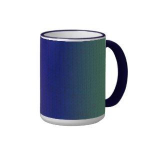 Rainbow Stockinette Mug