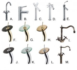 It is also important to know what material your faucet is made from