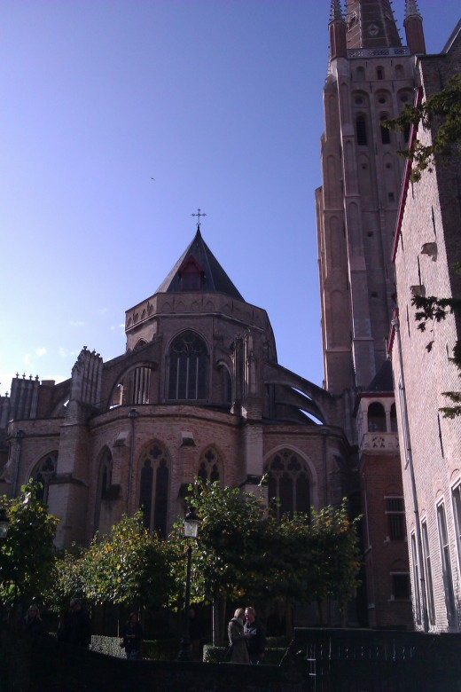 The Church of Our Lady, Bruges.