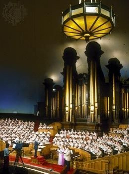 Back Home After the Tabernacle's Recent Renovation