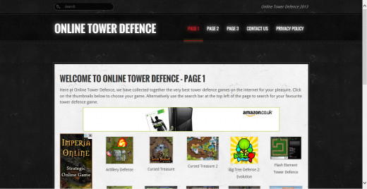 Online Tower Defence