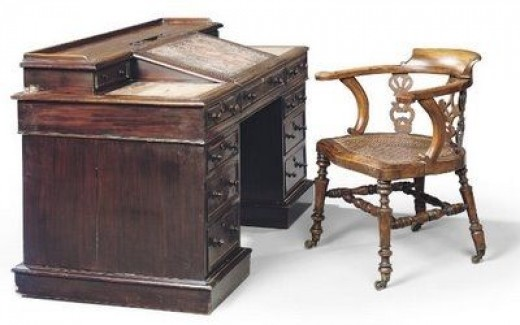 Charles Dickens' Writing Desk