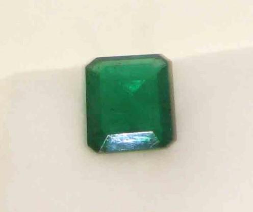 Graharatna: Emerald Octagon, Zambian, Vardhaman Gems
