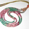 Beaded Necklace: Ornaments with stone beads