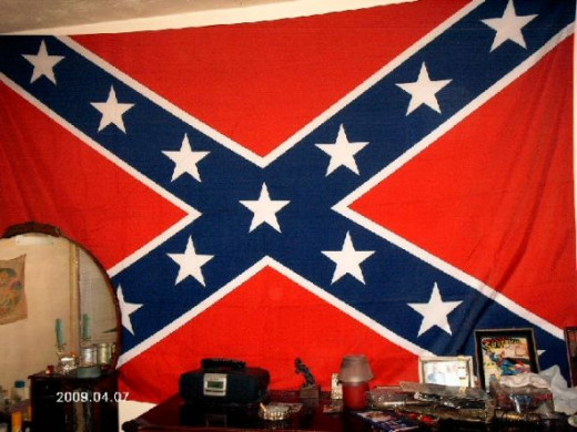 Giant Confederate Flag