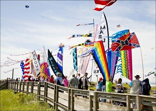 Join the Kite Festival each August