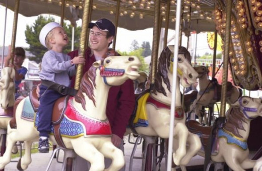 Ride the Merry-Go-Round Downtown