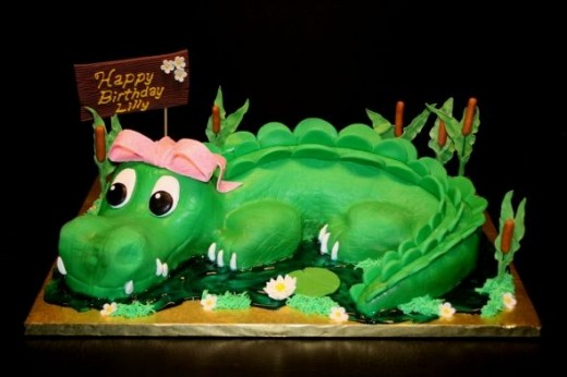 Alligator Cake by Marks110 via Flickr