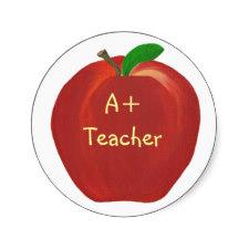 A Plus Teacher Stickers