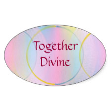 Together Divine Stickers
