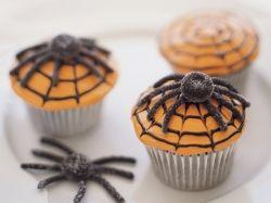 Realistic  Gum Drop Spider Cupcakes