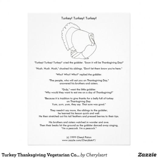 Turkey story by Cheryl Paton.