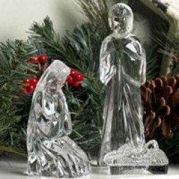 Crystal Holy Family