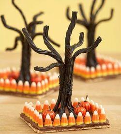 Spooky Halloween Trees