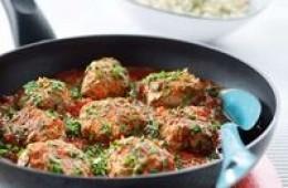 Oriental meatballs photo