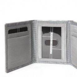 RFID Blocking Mens Wallets for ID Safety - Trifold