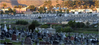 The Necropolis of Colma, California