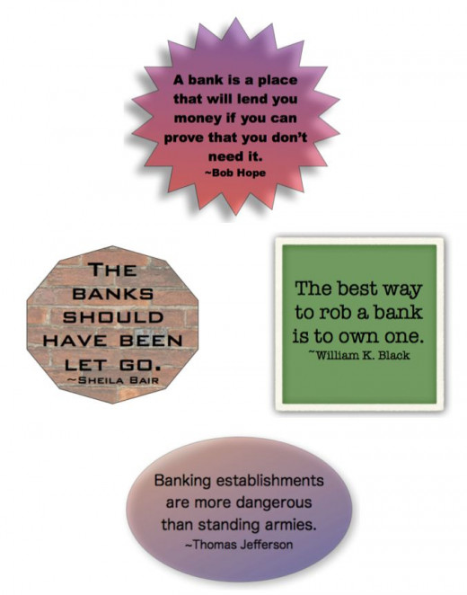 Do You Agree With These Banking Quotes?