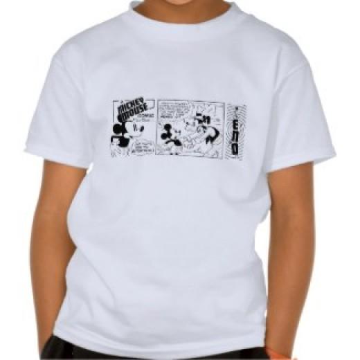 Mickey Mouse Drawing Shirt