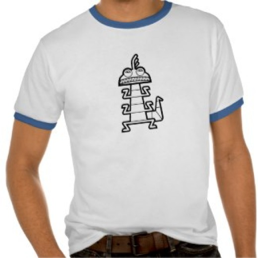 Monsters Inc Drawing Shirt, Randall