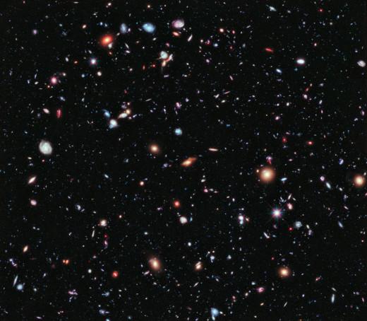 Photo Credit:NASA; ESA; G. Illingworth, D. Magee, and P. Oesch, University of California, Santa Cruz; R. Bouwens, Leiden University; and the HUDF09 Team