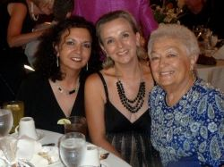 photo of me, my sister Linda and our Mom