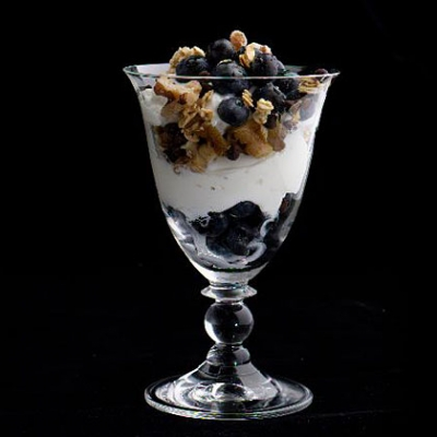 BLUEBERRY PARFAIT - So Delicious, AND So Good For You!