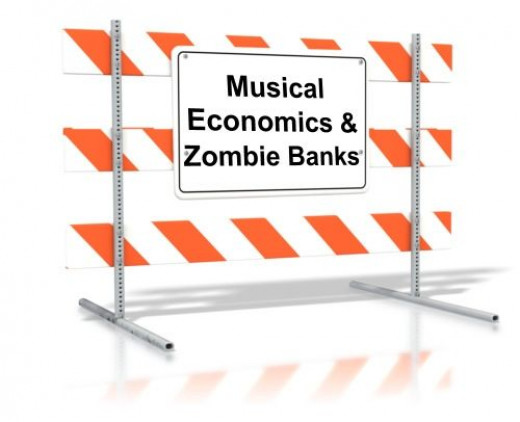 Musical Economics and Zombie Banks