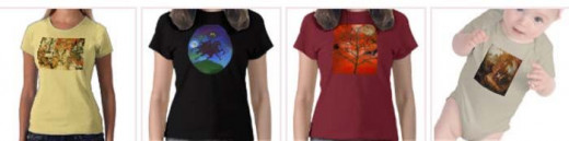 Halloween T-shirts by Sandyspider Gifts on Zazzle