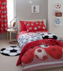 Soccer Ball Bedroom Theme