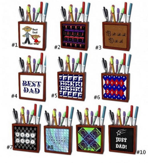 10 Sandy Mertens Pen Holders