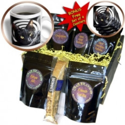 Halloween Cat Coffee Gift Baskets