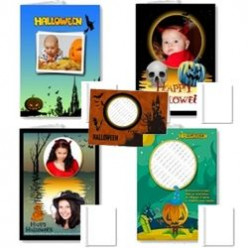 Halloween Photo Frame Cards and Gifts
