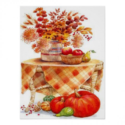 Autumn And Thanksgiving Gifts by Sandyspider Gifts on Zazzle