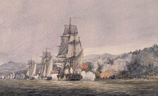 Battle Of Valcour Island_watercolor