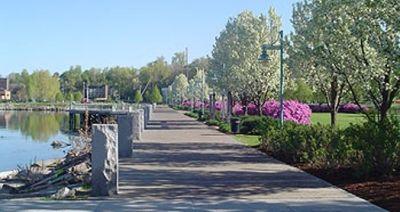 Burlington's Waterfront Bike Path