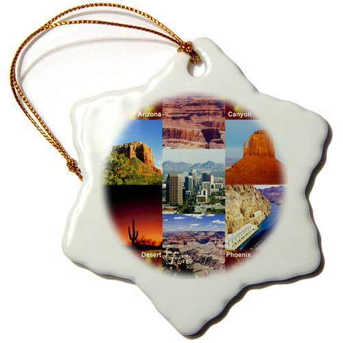 Arizona Landscape Collage Ornament