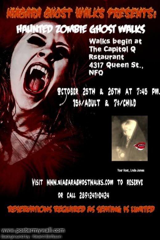 I can't wait until this year's Niagara Ghost Walks Halloween Stroll.