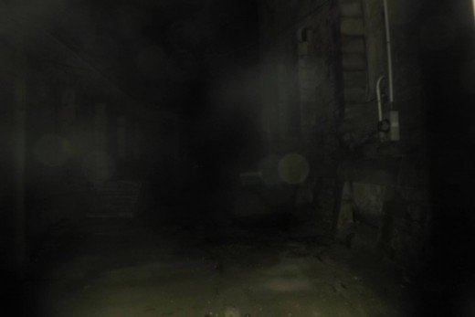We captured this one at the haunted old jail.