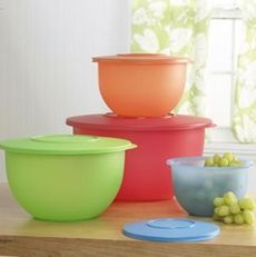 Tupperware's Impressions Nesting Bowl Set