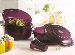 Tupperware Stack Cooker Cooks a 3-Course Meal